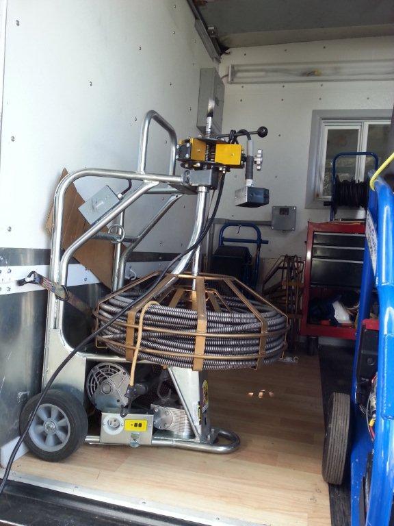 300' Rooter Machine