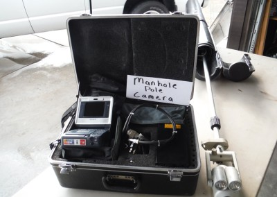 Underground Utility Pole Camera